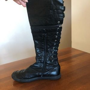 PATAUGAS | Lace up combat boots